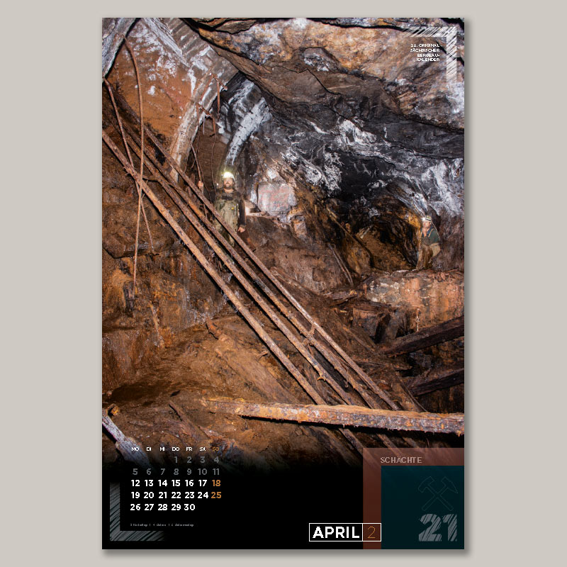 Bergbaukalender 2021 - April 2